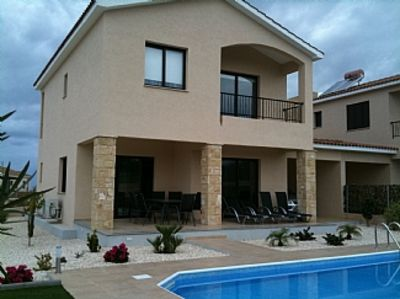 Photo for 3 Bed Villa, Private Pool, Distant Sea Views