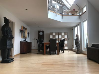 Photo for Stylish, spacious penthouse in a prime location in the middle of the Kurfuerstendamm