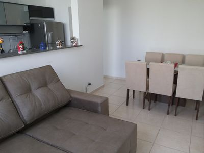 Photo for Apt. furnished 2 DORMITORIES (FREE Wi-Fi!) Easy access to RibeiraoShopping.