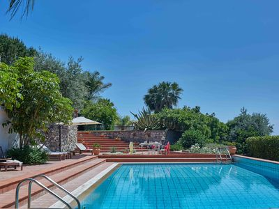 Photo for Private chlorine-free pool & Etna view - Villa Calipso - Taormina