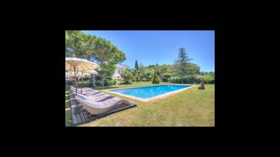 Photo for 10 bedroom Villa, sleeps 20 in Sitges with Pool, Air Con and WiFi