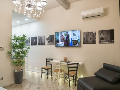 Photo for Secret Room- a little gem with outdoor patio in the historic center of Bologna