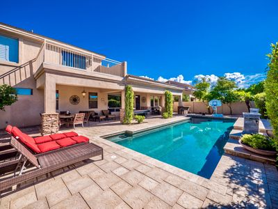 Photo for Grayhawk Lots of Bedrooms and Lots of Sunshine in Backyard with Pool