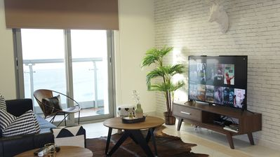 Photo for Outstanding full sea view - Princess Tower two bedroom apartment