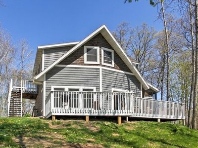 Photo for Crosslake Home on Pine Lake w/ Deck & Fire Pit!