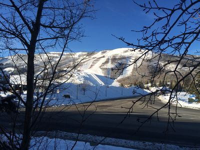 Photo for Park City Fun - Short Walk To Lifts! Hot Tub, Wifi, Fireplace, Corner Unit