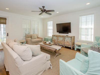 Photo for Gorgeous Interior Designs & Open Concept Living Area - 11+ Blocks from Beach