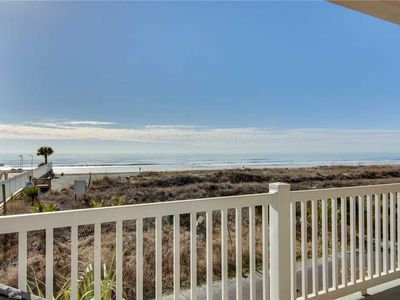 Photo for Enjoy ocean views with easy walking distance to downtown Folly Beach!