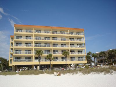 Photo for DIRECT GULF FRONT CONDO ACROSS THE STREET FROM JOHNS PASS