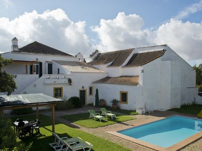 Photo for Villa T3+T2 on a farm, 50 ha, with pool, close to the best beaches