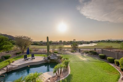 Yard - Welcome to Mesa where your stunning Las Sendas rental is professionally managed by TurnKey Vacation Rentals!