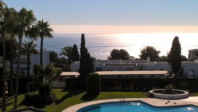 Photo for Elegant penthouse in Marbella with fantastic sea view, new renovation 2018