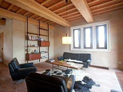 Photo for Holiday apartment Saline di Volterra for 5 persons with 3 bedrooms - Penthouse holiday apartment