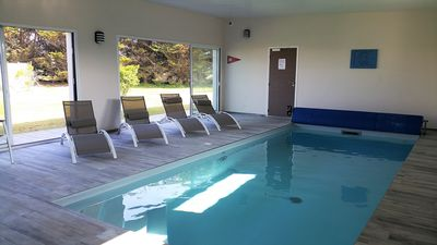 Photo for TY VRAN - PRIVATE COVERED SWIMMING POOL 100 METERS FROM THE BEACH - 8 people