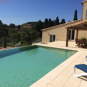 Photo for Spacious self catering detached half villa with infinity swimming pool in Peret