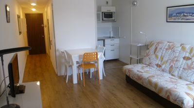 Photo for Biarritz loc studio 2-3 pers-standing-balcony-beach-pool-city center