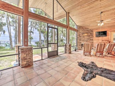 Photo for NEW! Welaka House w/Private Dock on St Johns River