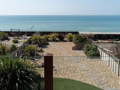 Photo for Beach House with direct frontage onto beach, close to Witterings