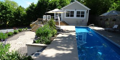 Photo for 60 Foot Lap Pool - Steps to Ocean - 5 min walk to town