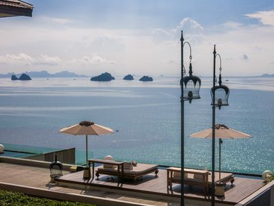 Photo for Huge Seaview Villa within a 5-Star branded Resort on Samui
