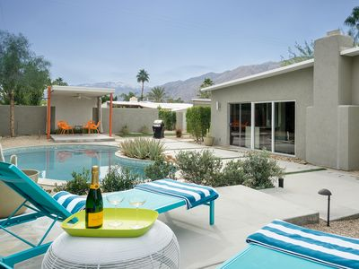 Photo for Upscale 3BR Palm Springs House w/ Private Pool