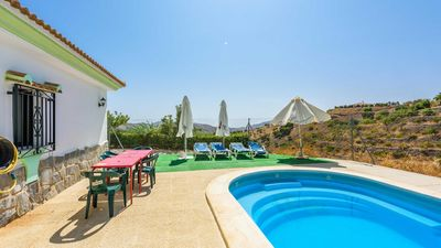 Photo for 7-people holiday home on a hilltop in Malaga province