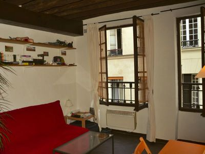 Photo for Rent charming old Parisian studio of 25 sqm very well located