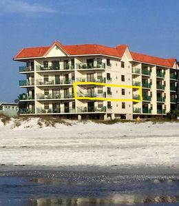 Photo for TRUE GULF FRONT CONDO 100%  BEACH & GULF VIEWS  * UPDATED NEW EVERYTHING