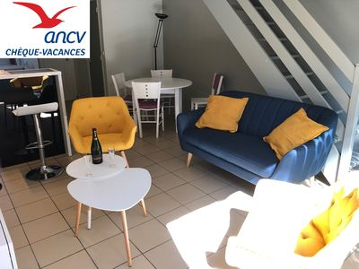 """Photo for Cottage """"Opale"""", 900m beach with terrace and Wifi - Stella beach (Le Touquet)"""