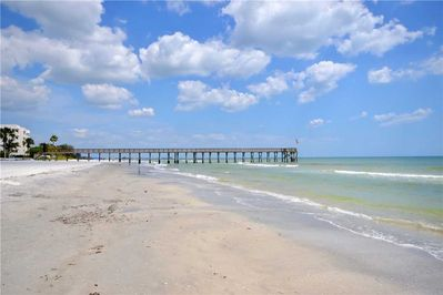 Where Sky Meets Surf - You'll love the subtle color changes in the sea at different times of the day and how at times the sky and sea almost seem to become one. Nature is more beautiful along the Florida coast.