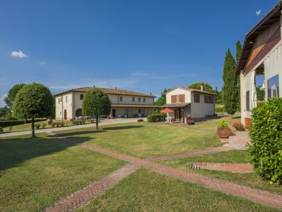 Photo for Panzano Apartment, Sleeps 5 with Pool and WiFi