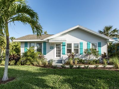 Photo for 4 Bedroom 3 Bath , Heated pool,  One block from beach! Newly Remodeled!