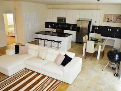 Photo for Modern Bargains - Bella Vida Resort - Feature Packed Relaxing 4 Beds 3 Baths Townhome - 7 Miles To Disney