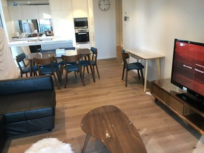 Photo for Brand new 2 bedroom 2 bathroom in 5 Star Building Free Parking