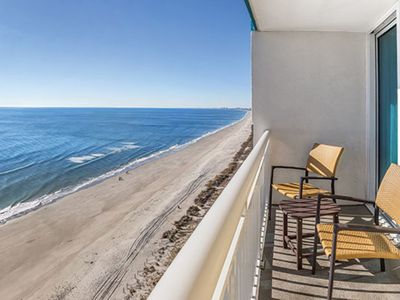 Photo for 1 Bedroom Condo - OCEAN FRONT - Towers on the Grove