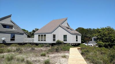Photo for Seabrook Island Oceanfront Villa Stunning Views Each Room & Spectacular Sunsets.