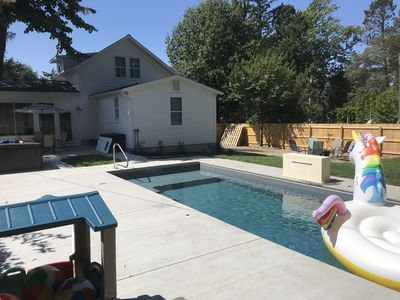 Photo for Lake Escape Downtown New Buffalo w/PRIVATE Pool & Hot Tub