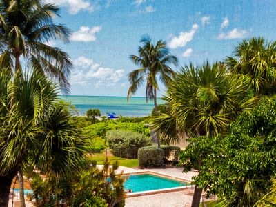 Updated, Tropical Gulf View, Two Bedroom Condo - Sand Pointe 121