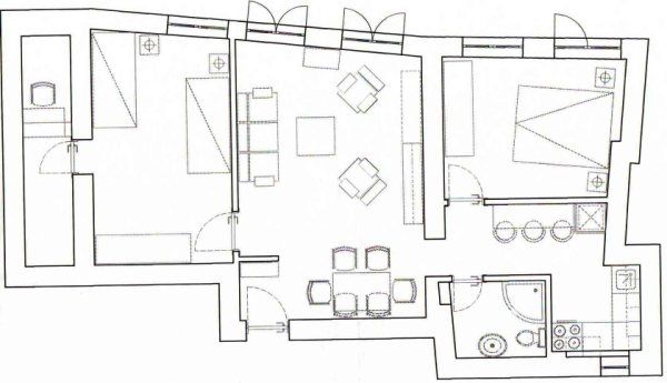 SKY DREAM APARTMENT - Two Bedroom