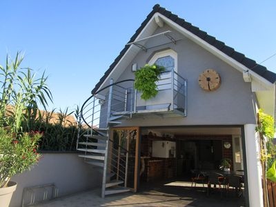 Photo for Flat-cottage new in dependence fully equipped + parking. Very calm