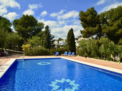 Photo for Calp / Fustera - House 3 bedrooms - Pool - Tennis - Beach 1400m
