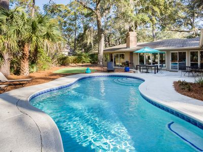Photo for Time to book your Fall Get Away - 4 BR, 3 BA close to the beach, golf and tennis