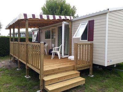 Photo for Trigano mobile home 8 pers / 3chambres NEW fully equipped