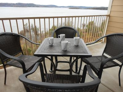 Photo for Incredible Table Rock View-2 BR/2 Bath-Near Attractions-Full Serve Marina Onsite