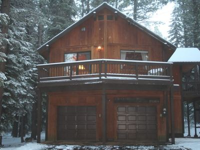 Photo for Sunny Sierra Cabin Nestled in the Pines