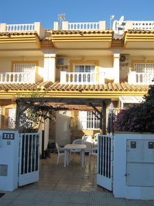 Photo for 3 Bed  refurbished house with air con and shared pool 5 mins walk to Mar Menor