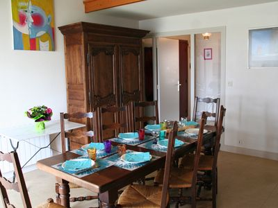 Photo for Large apartment 2 minutes from the Grand Beach Port Navalo