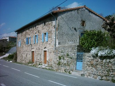 Photo for Natural stone house close to 'Ardéche' (3 km away), pets allowed