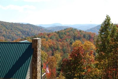 Fall in the mountains!