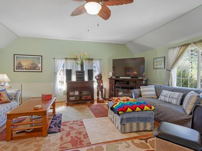 Photo for Bright & roomy beach home w/ a furnished deck & ocean access